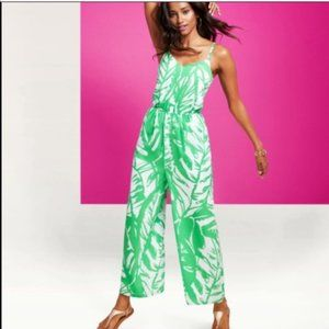 Lilly Pulitzer For Target Green Leaf Jumpsuit